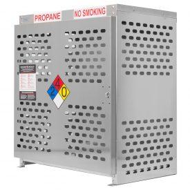 Aluminum Propane Gas Cages