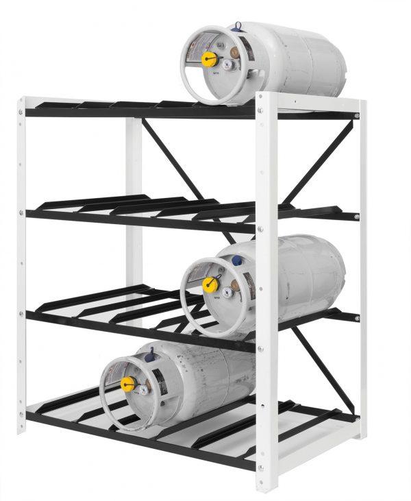 Forklift Cylinder Open Rack for 12 Cylinders. Open Rack for Tanks
