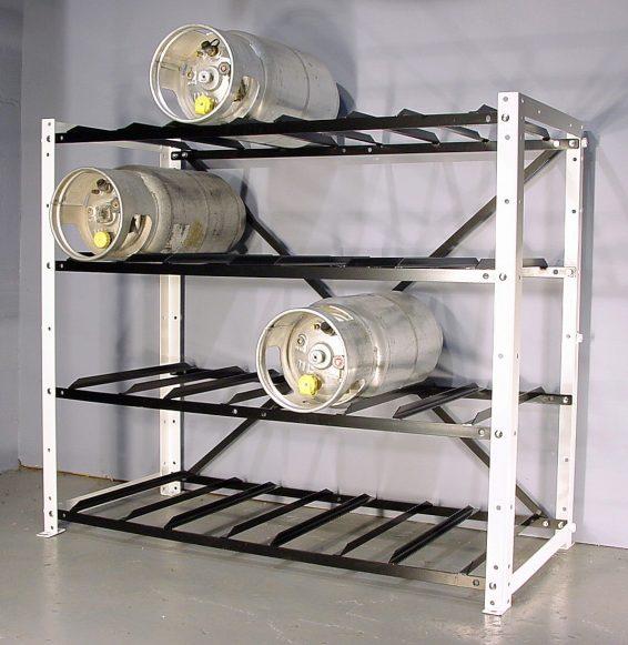 Image Result For Propane Tank Storage Rack