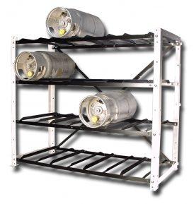 Large Forklift Cylinder Open Rack. Open Propane Tank Rack